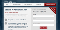 CashUSA.com — Secure a Personal Loan in 4 Easy Steps, Even With a Bad Credit Score