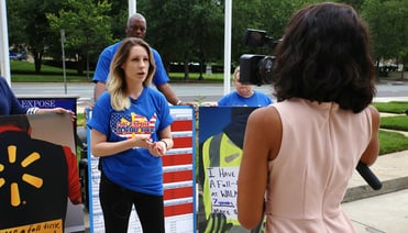 Photo of Amy Ritter, Making Change at Walmart Communications Director