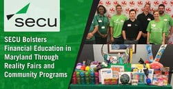 SECU Bolsters Financial Education in Maryland Through Reality Fairs and Community Programs