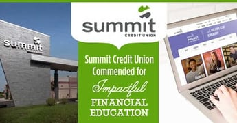 Summit Credit Union Commended For Impactful Financial Education