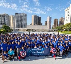 Photo of Bank of Hawaii Live Kokua Community Walk