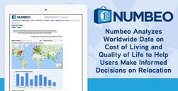 Numbeo Analyzes Worldwide Data on Cost of Living and Quality of Life to Help Users Make Informed Decisions on Relocation