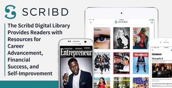 The Scribd Digital Library Provides Readers with Resources for Career Advancement, Financial Success, and Self-Improvement