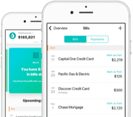 Image of the Mint App