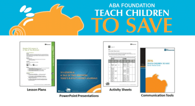 Photo collage of ABA's program Zions Bank uses