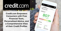 Credit.com Empowers Consumers with Free Financial Tools, Personalized Advice, and a Comprehensive View of their Credit Profiles
