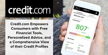 Credit Dot Com Empowers Consumers With Free Financial Tools