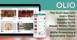 The OLIO App Lets Users Share Surplus Food Locally to Fill Needs Within Their Communities While Promoting a Sustainable Future
