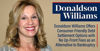 Donaldson Williams Offers Consumer Friendly Debt Settlement
