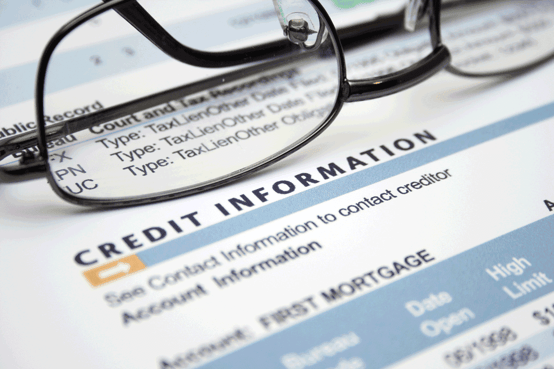 Image of a Credit Report