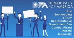 Democracy for America: How Encouraging a Truly Representative Government Can Combat Rising Income Inequality