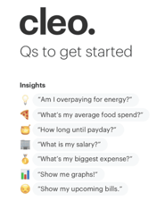 Cleo Questions Screenshot