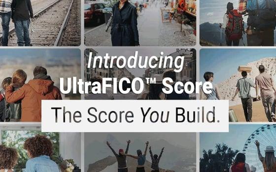 Screenshot of UltraFICO homepage