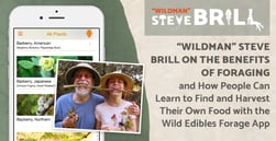 """Wildman"" Steve Brill on the Benefits of Foraging and How People Can Learn to Find and Harvest Their Own Food with the Wild Edibles Forage App"