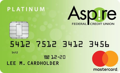 Aspire Federal Credit Union Platinum Mastercard