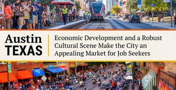 Austin Texas Is An Appealing Market For Job Seekers