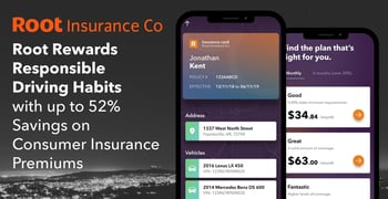 Root Rewards Responsible Driving Habits with up to 52% Savings on Consumer Insurance Premiums