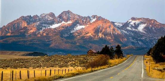 Mountains in Idaho