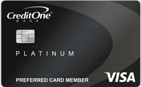 CreditOne® Platinum Visa