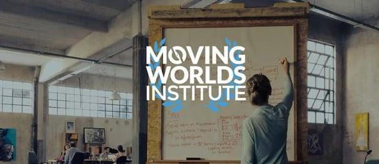 Screenshot f MovingWorlds Institute banner