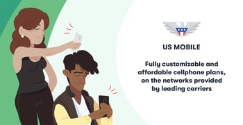 US Mobile Offers Fully Customizable, Affordable Cellphone Plans that Offer Access to the Same Quality Networks Provided by Leading Carriers