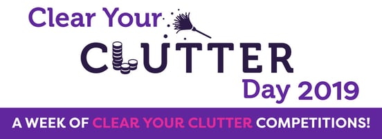 Screenshot of Clear Your Clutter campaign banner