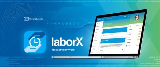 LaborX banner ad