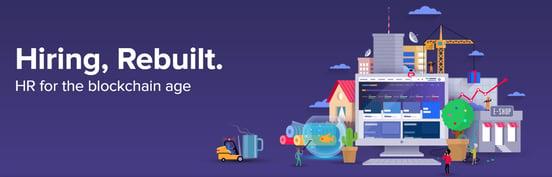Screenshot of ChronoBank banner ad