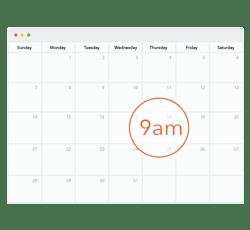 Nudgemail Calendar Graphic