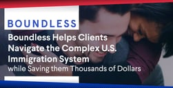 Boundless Helps Clients Navigate the Complex U.S. Immigration System while Saving them Thousands of Dollars