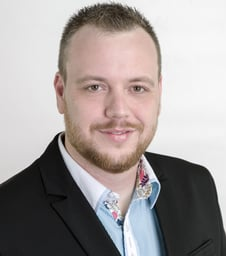 Photo of INLOCK Co-Founder and Chief Marketing Officer Péter Gergő said