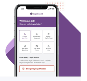LegalShield App Screenshot