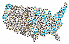 National Fund for Workforce Solutions Map