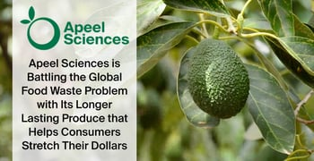 Apeel Sciences is Battling the Global Food Waste Problem with Its Longer-Lasting Produce that Helps Consumers Stretch Their Dollars