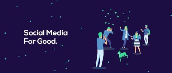 Screenshot of Karma app banner