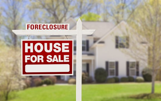 Photo of a Home in Foreclosure