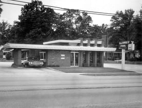 Black and White Countybank Photo