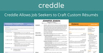 Creddle Allows Job Seekers To Craft Custom Resumes