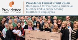 Providence Federal Credit Union Recognized for Promoting Financial Literacy and Security Among Healthcare Employees