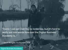 Screenshot of Digital Business Academy testimonial