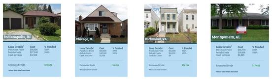 Screenshot of DoHardMoney client properties