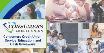 Consumers Cu Provides Education And Cash Giveaways
