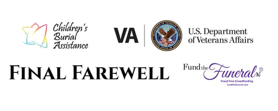 Logos of Funeral Assistance Programs