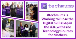#techmums is Working to Close the Digital Skills Gap in the U.K. with Free Technology Courses for Mothers