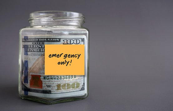 Photo of a Jar of Money