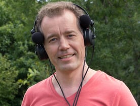 Photo of myNoise founder Dr. Stéphane Pigeon