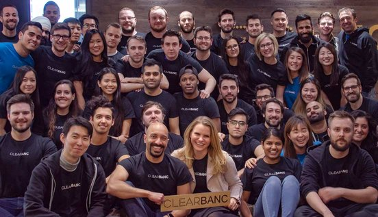Photo of the Clearbanc team