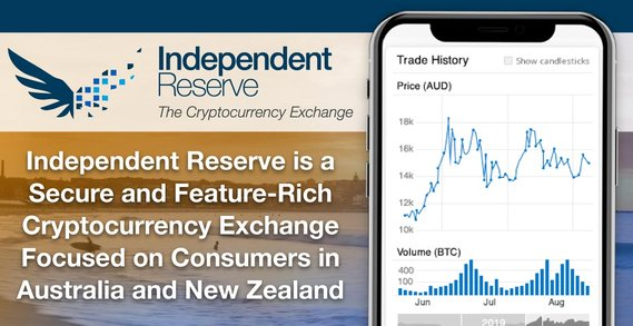 Independent Reserve is a Secure and Feature-Rich Cryptocurrency Exchange Focused on Consumers in Australia and New Zealand