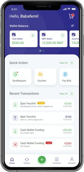 SureRemit App