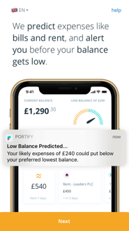 Portify App Screenshot
